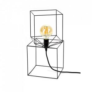 Baza pentru veioza neagra din fier 46 cm Concubina Serax
