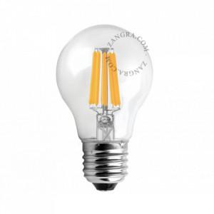 Bec transparent filament LED 6W dimabil Tinio Zangra