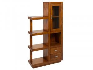 Biblioteca din lemn de mindi 150 cm Spian Santiago Pons