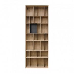 Biblioteca maro din MDF 90x36x245 cm Bibli Versmissen