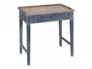 Birou din lemn de mindi 70 cm Drawer Desk Santiago Pons