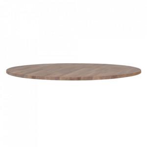 Blat maro din lemn de stejar 120 cm Tablo Woood