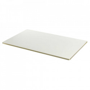 Blat pentru masa alb/auriu din lemn 75x130 cm Sanba Serax