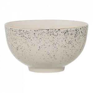 Bol alb/verde din ceramica 350 ml Venus Bloomingville