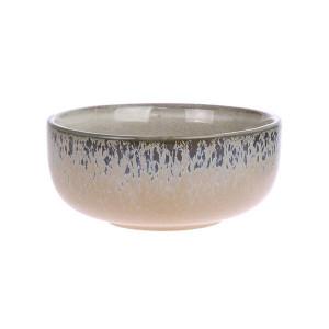 Bol din ceramica maro deschis 70's Medium HK Living
