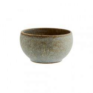 Bol grej/gri din ceramica 11,5x11,5 cm Zlata Taupe Light Grey Madam Stoltz