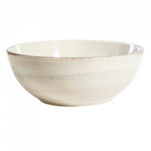 Bol gri din ceramica 1 L Lincombe Ixia