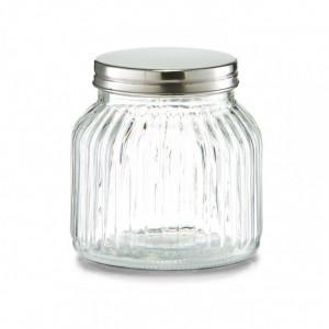 Borcan cu capac transparent din sticla 700 ml Soja Zeller
