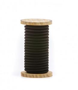 Cablu negru din PVC si bumbac 5 m Philo Black Seletti