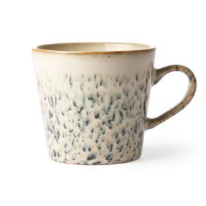 Cana alba/verde din ceramica 300 ml Cappuccino Hail HK Living