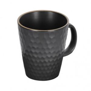 Cana neagra din ceramica 430 ml Manami Kave Home