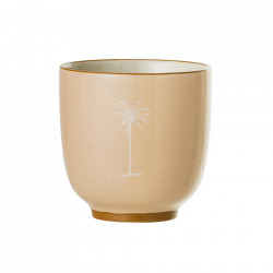 Cana portocalie din ceramica 180 ml Palm Bloomingville