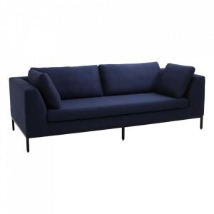 Canapea bleumarin din polipropilena pentru 3 persoane Ambient Custom Form