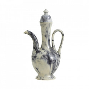 Carafa multicolora din ceramica 21x38 cm Cascade Nordal