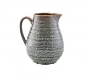 Carafa verde/ albastra din ceramica 10,8x19 cm Nord House Doctor