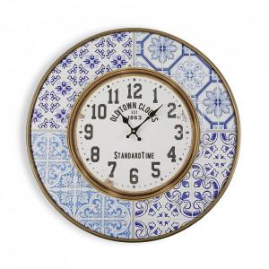Ceas de perete rotund multicolor din metal 63 cm Puth Versa Home
