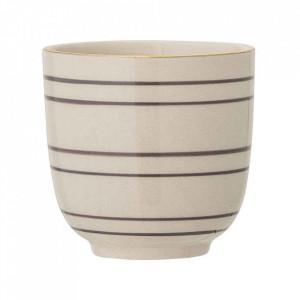 Ceasca crem din ceramica 150 ml Ava Bloomingville