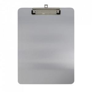 Clipboard gri din aluminiu si otel Alu Monograph