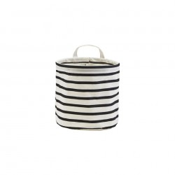 Cos alb din bumbac 20x20 cm Stripes House Doctor