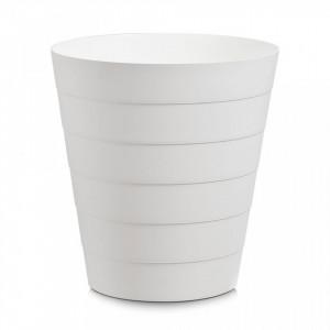 Cos de gunoi alb din plastic 13,5 L Trash Can Zeller