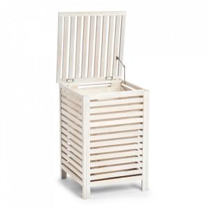Cos de rufe alb din lemn 45x65,5 cm Burna Zeller