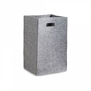 Cos de rufe gri din fetru 35x55 cm Laundry Collector Gray Zeller