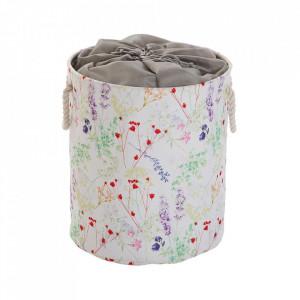 Cos de rufe multicolor din textil 33x50 cm Blume Versa Home
