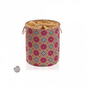 Cos de rufe multicolor din textil 35x40 cm Aubrey Laundry Versa Home