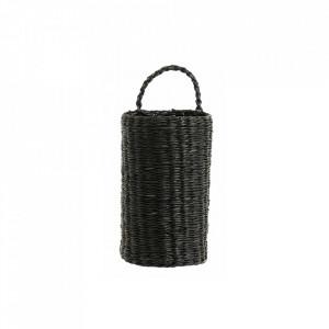Cos negru din iarba de mare Seagrass Basket Nordal