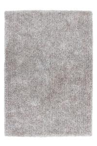Covor argintiu/alb din poliester Samba Lalee (diverse dimensiuni)