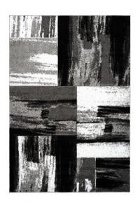 Covor argintiu din polipropilena Swing Lalee (diverse dimensiuni)