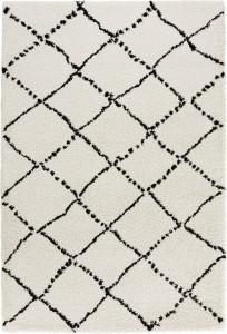 Covor bej/negru din polipropilena120x170 cm Allure Ronno Mint Rugs