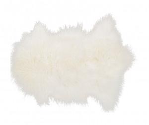 Covor crem din blana naturala de miel 50x90 cm Tibetan Lamb LifeStyle Home Collection