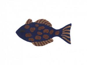 Covor / Decoratiune de perete pentru copii 38x78 cm Blue Fish Ferm Living