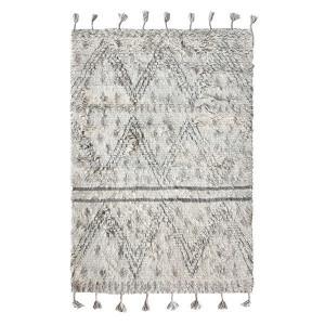 Covor gri din lana 180x280 cm Berber HK Living