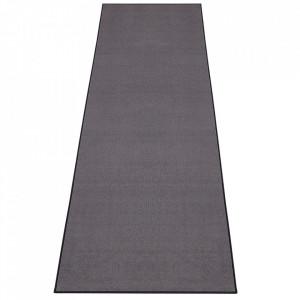 Covor gri din polipropilena Bare Dark Grey BT Carpet (diverse marimi)