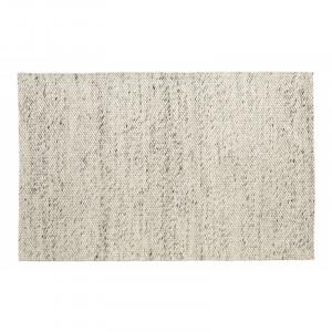 Covor gri/ivoriu din lana 160x240 cm Lara Nordal