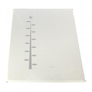 Covor joaca alb din PVC 72x93 cm Ali Ruler Quax