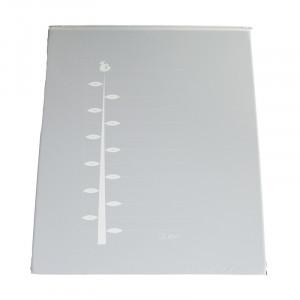 Covor joaca gri deschis din PVC 72x93 cm Ali Ruler Quax