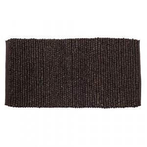 Covor lana maro 120x60 cm Brown Wools Bloomingville