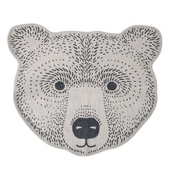 Covor maro din bumbac Bear Bloomingville