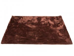 Covor maro din poliester 170x240 cm Teddy Brown Santiago Pons
