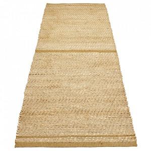 Covor maro/ocru din iuta si lana 80x250 cm Conwy Bolia