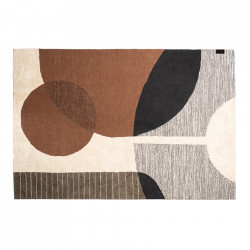 Covor multicolor din bumbac si poliester 200x300 cm Hudson LifeStyle Home Collection