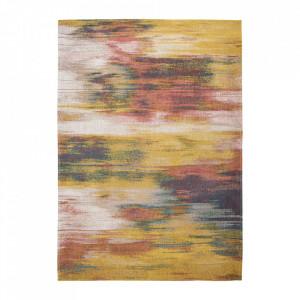 Covor multicolor din bumbac si poliester Atlantic's Hydrangea Mix Louis de Poortere (diverse dimensiuni)