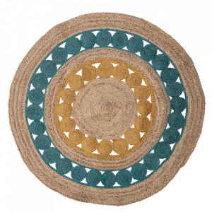 Covor multicolor din iuta 119 cm Marlin Bloomingville