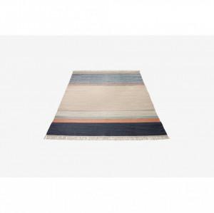 Covor multicolor din lana 240x170 cm Twine Blue Mix Bolia
