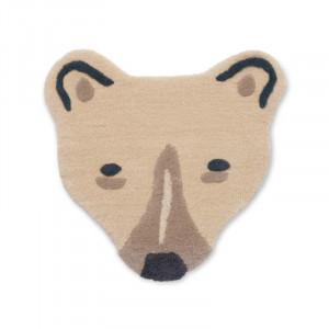 Covor multicolor din lana 57x60 cm Polar Bear Ferm Living