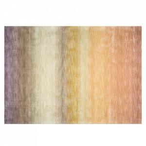 Covor multicolor din lana si viscoza 140x200 cm Desert Versmissen