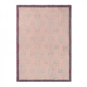Covor multicolor din lana TB Kinmo-Pink Brink & Campman (diverse dimensiuni)